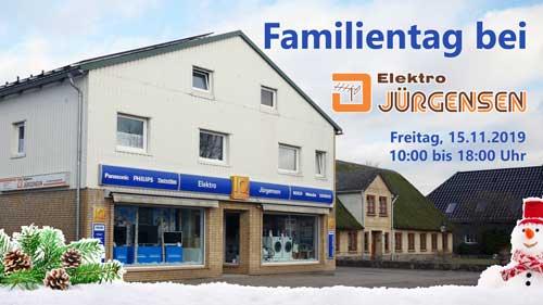 Familientag 2019 bei Elektro Jürgensen