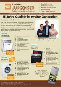 Jubiläums-Angebote - 15 Jahre Qualität in zweiter Generation